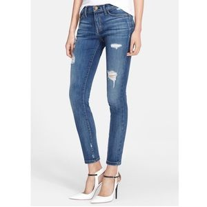 "NWT Current/Elliot ""The Stiletto"" distressed jeans"